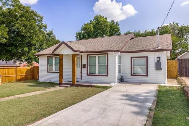 218 E Jerden Lane, Dallas, TX 75203 (MLS #14664365) :: Real Estate By Design