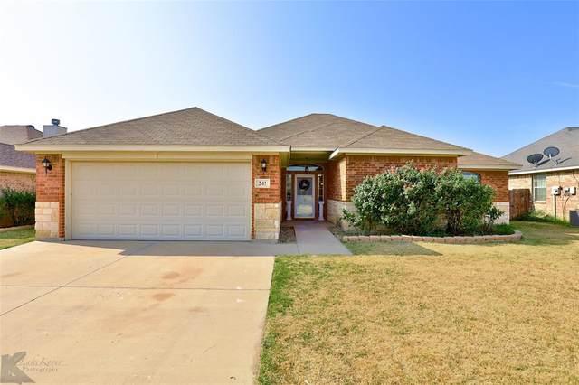 241 Lollipop Trail, Abilene, TX 79602 (MLS #14664524) :: Russell Realty Group