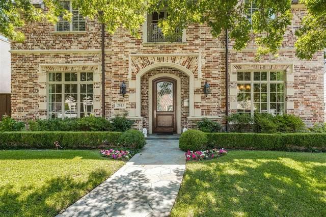 2815 Stanford Avenue, University Park, TX 75225 (MLS #14665327) :: Real Estate By Design