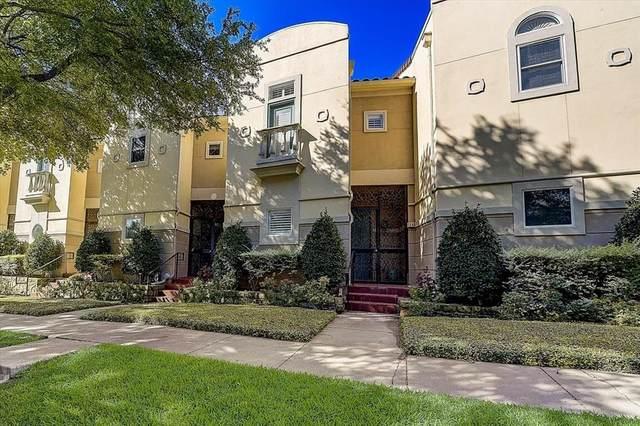 3707 Gilbert Avenue #12, Dallas, TX 75219 (MLS #14665334) :: VIVO Realty