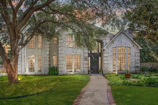 5909 Highland Hills Lane, Colleyville, TX 76034 (MLS #14665443) :: Frankie Arthur Real Estate