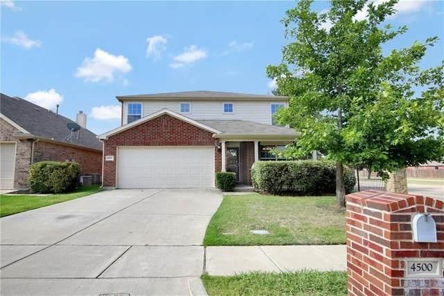 4500 Chris Drive, Fort Worth, TX 76244 (MLS #14665469) :: Craig Properties Group