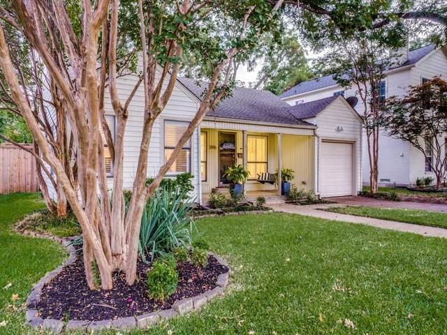 5916 Ellsworth Avenue, Dallas, TX 75206 (MLS #14665926) :: VIVO Realty
