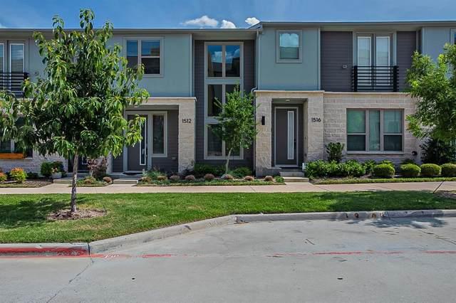 1512 Navasota Trail, Plano, TX 75075 (MLS #14666028) :: Real Estate By Design