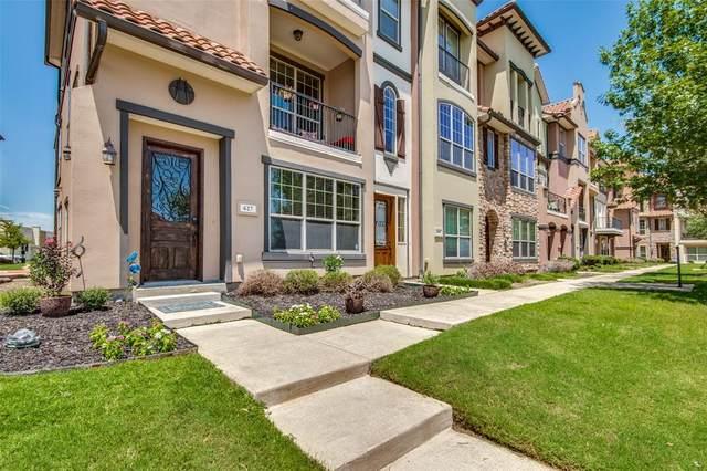 627 Senda #58, Irving, TX 75039 (MLS #14666172) :: Real Estate By Design