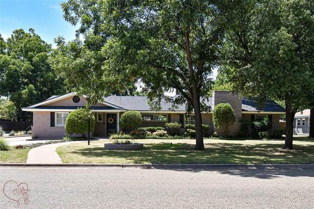 1418 Sylvan Drive, Abilene, TX 79605 (MLS #14666496) :: All Cities USA Realty
