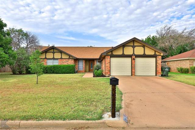 3726 Santa Monica Drive, Abilene, TX 79605 (MLS #14666537) :: Real Estate By Design