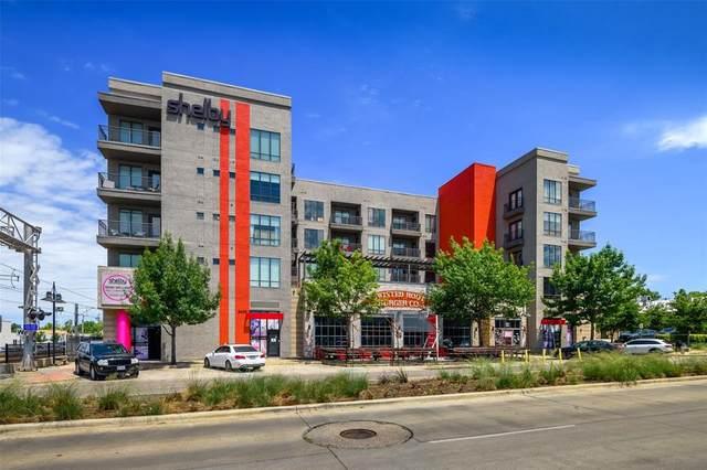 5609 Smu Boulevard #202, Dallas, TX 75206 (MLS #14666718) :: Real Estate By Design