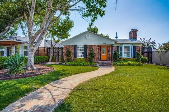 3518 S Versailles Avenue, Dallas, TX 75209 (MLS #14666874) :: Real Estate By Design