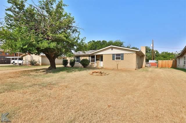 2502 Glenwood Drive, Abilene, TX 79605 (MLS #14666900) :: Trinity Premier Properties