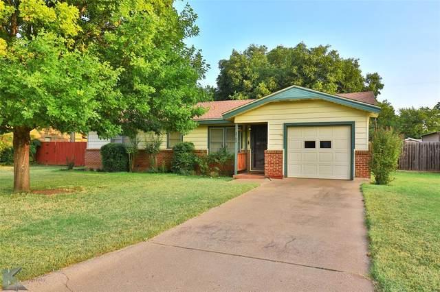 3762 Concord Drive, Abilene, TX 79603 (MLS #14667338) :: The Krissy Mireles Team