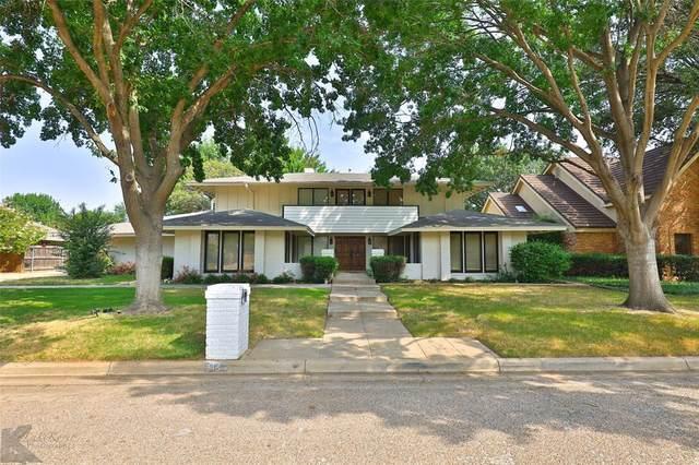 14 Cypress Point Street, Abilene, TX 79606 (MLS #14667355) :: Real Estate By Design