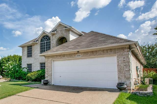 2828 Calico Rock Drive, Fort Worth, TX 76131 (MLS #14667423) :: Real Estate By Design