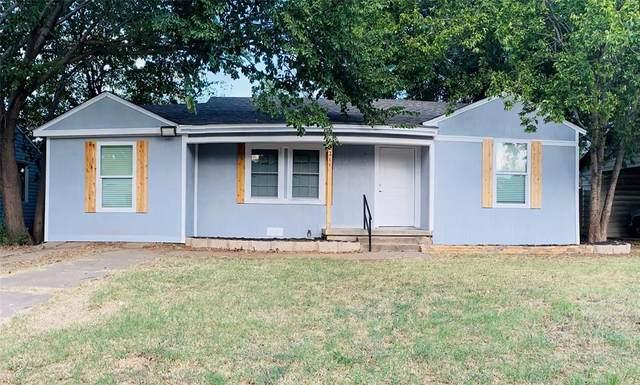 2211 Gilbert Avenue, Wichita Falls, TX 76301 (MLS #14667580) :: Real Estate By Design