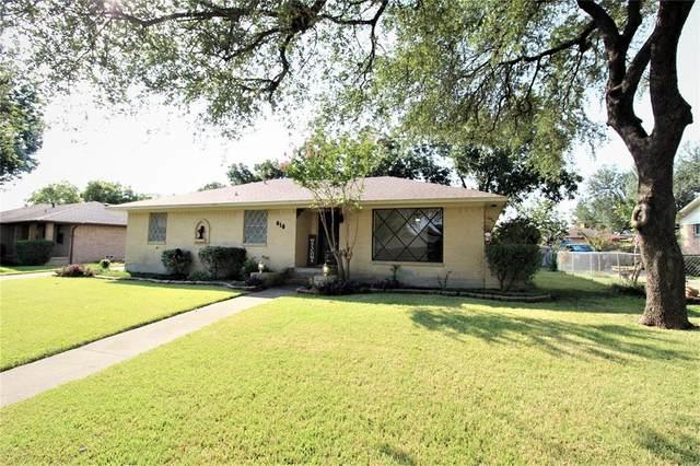 818 Worcester Lane, Garland, TX 75040 (MLS #14667669) :: The Good Home Team