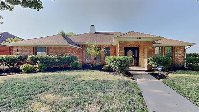 900 Sycamore Creek Road, Allen, TX 75002 (MLS #14667746) :: Front Real Estate Co.