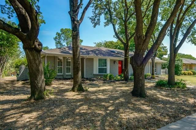 727 Knollridge Drive, Lewisville, TX 75077 (MLS #14667948) :: Maegan Brest | Keller Williams Realty