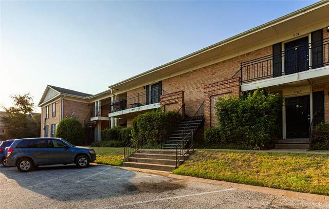5055 Ridglea Lane #1106, Fort Worth, TX 76116 (MLS #14668369) :: Real Estate By Design
