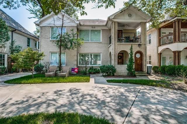 3733 Binkley Avenue, University Park, TX 75205 (MLS #14668626) :: Real Estate By Design