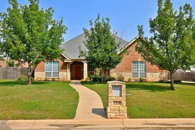 1318 Riata Road, Abilene, TX 79602 (MLS #14668671) :: Frankie Arthur Real Estate