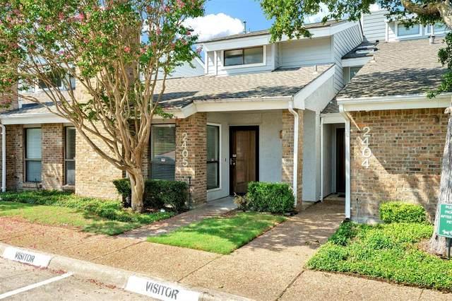 17490 Meandering Way #2405, Dallas, TX 75252 (MLS #14668695) :: Real Estate By Design