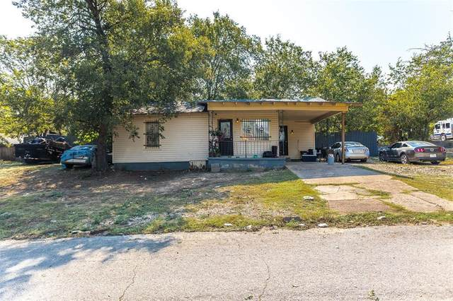 3322 30th Street, Fort Worth, TX 76106 (MLS #14668888) :: The Chad Smith Team