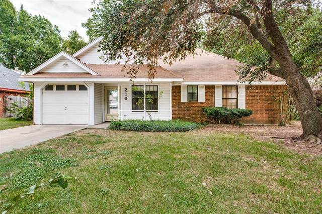 216 Joshua Street, Denton, TX 76209 (MLS #14668987) :: Real Estate By Design