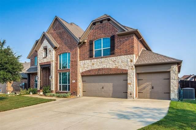 2352 Emerald Lake Lane, Little Elm, TX 75068 (MLS #14669092) :: Lisa Birdsong Group | Compass