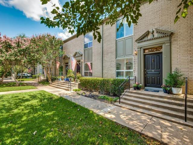 7526 W Northwest Highway #6, Dallas, TX 75225 (#14669317) :: Homes By Lainie Real Estate Group