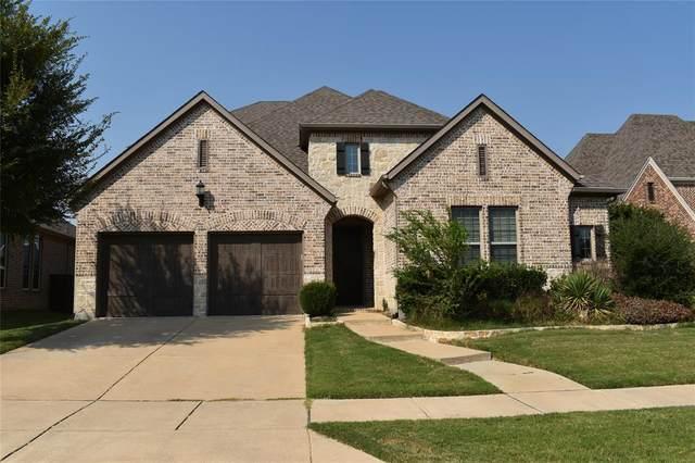 4460 Crossvine Drive, Prosper, TX 75078 (MLS #14669335) :: Real Estate By Design