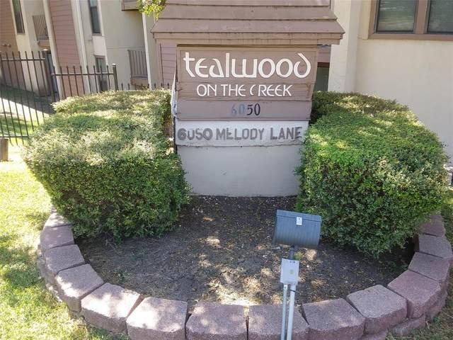 6050 Melody Lane #346, Dallas, TX 75231 (MLS #14669340) :: Robbins Real Estate Group
