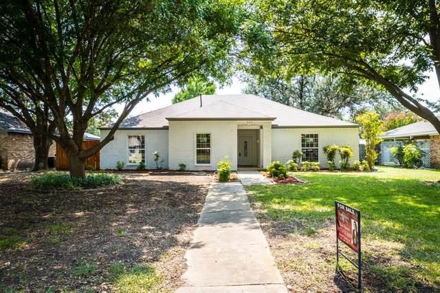 605 Nantucket Circle, Richardson, TX 75080 (MLS #14669377) :: Real Estate By Design