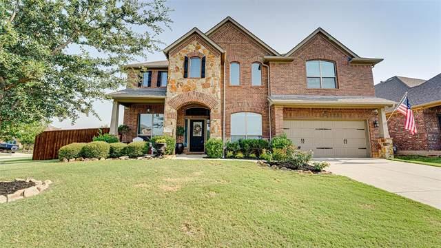 349 Enfield Drive, Roanoke, TX 76262 (MLS #14669565) :: Frankie Arthur Real Estate