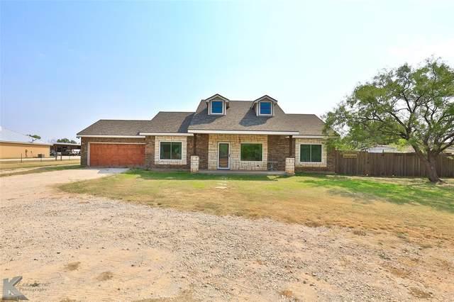 3241 Fulwiler Road, Abilene, TX 79603 (MLS #14669586) :: Real Estate By Design