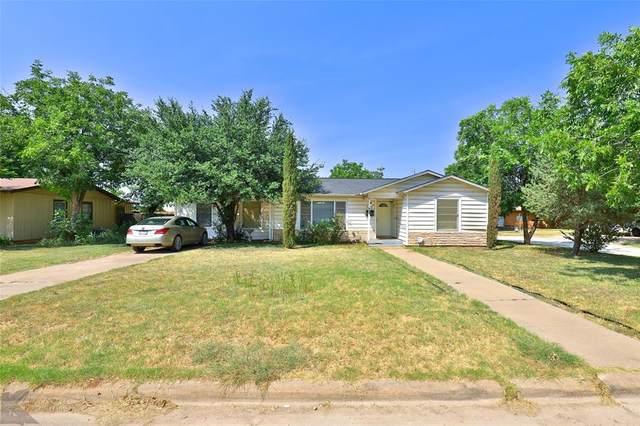 668 E North 23rd Street, Abilene, TX 79601 (MLS #14669669) :: The Russell-Rose Team