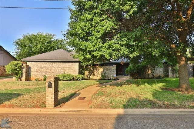 4610 Catclaw Drive, Abilene, TX 79606 (MLS #14669693) :: Craig Properties Group