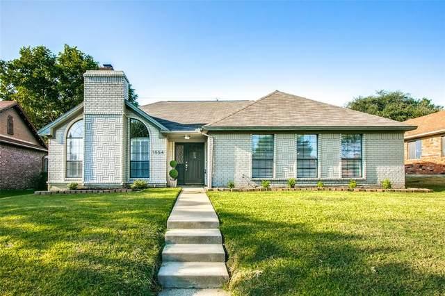 1554 Glenmore Drive, Lewisville, TX 75077 (MLS #14669699) :: The Rhodes Team