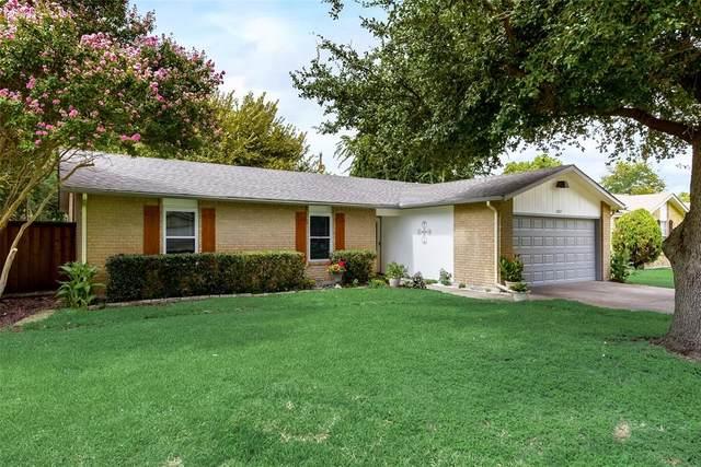 1207 Mulberry Lane, Mesquite, TX 75149 (MLS #14669740) :: Lisa Birdsong Group | Compass