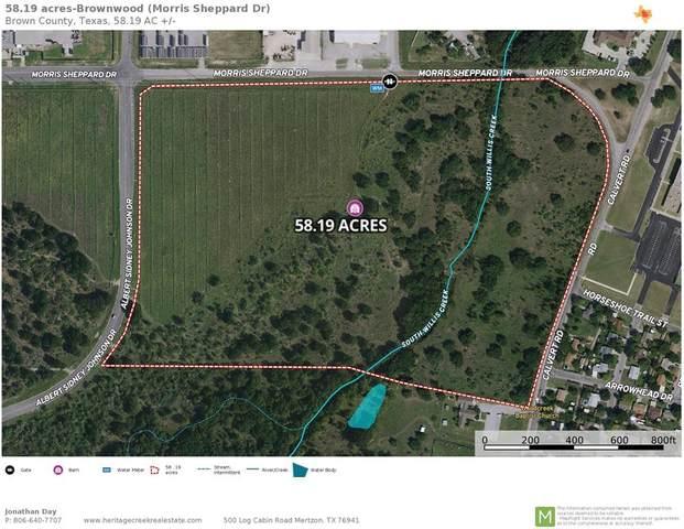 3105 Morris Sheppard Drive, Brownwood, TX 76801 (MLS #14669809) :: Frankie Arthur Real Estate
