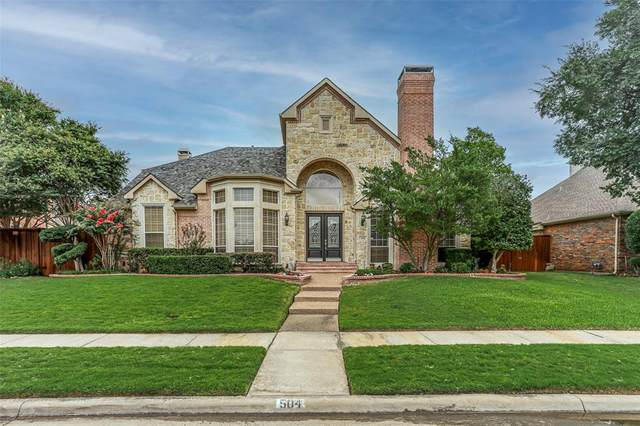 504 Wellington Road, Coppell, TX 75019 (#14670106) :: Homes By Lainie Real Estate Group