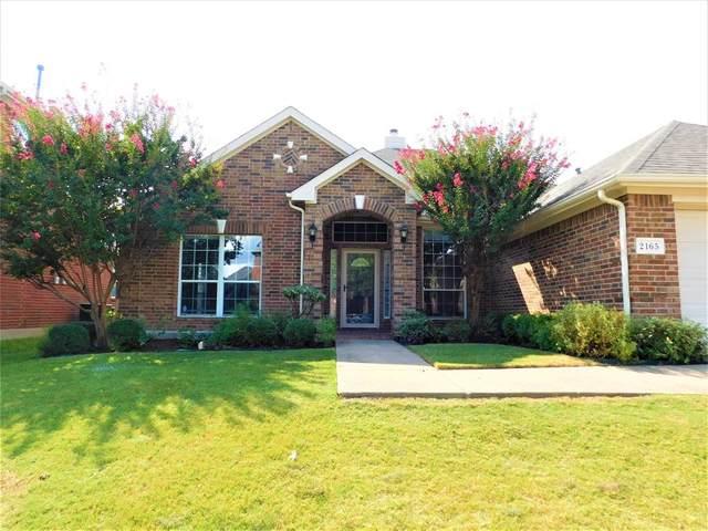 2165 Kiowa Court, Little Elm, TX 75068 (MLS #14670229) :: Real Estate By Design