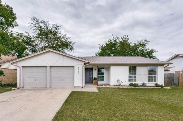 6457 N Park Drive, Watauga, TX 76148 (MLS #14670272) :: Craig Properties Group