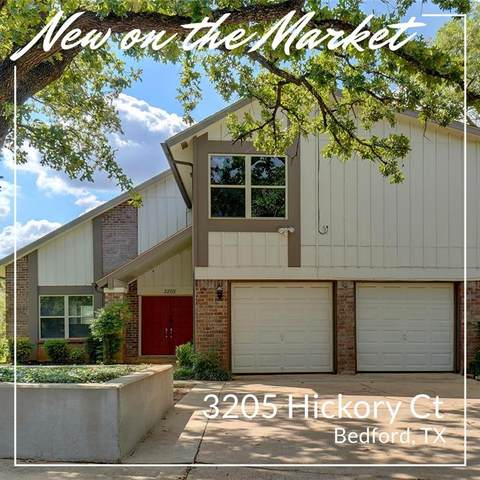 3205 Hickory Court, Bedford, TX 76021 (MLS #14670759) :: The Chad Smith Team