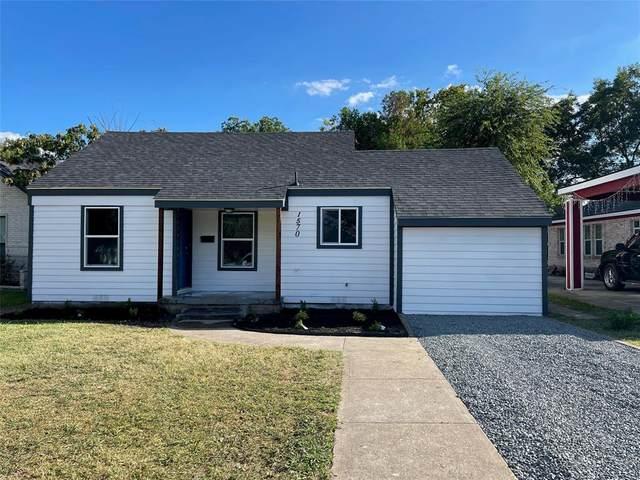 1570 E Missouri Avenue, Dallas, TX 75216 (MLS #14670787) :: Real Estate By Design