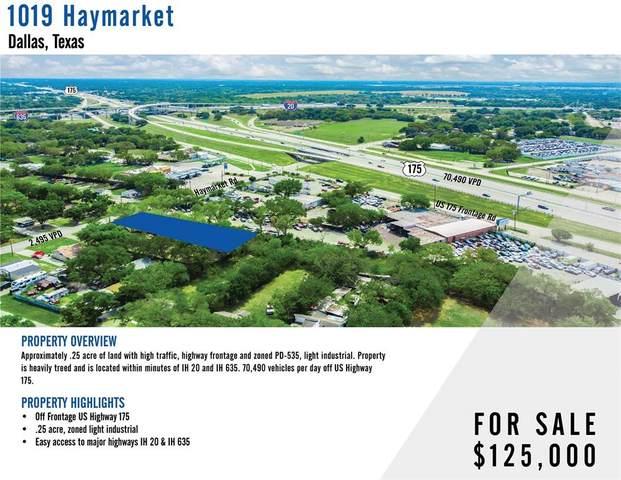 1019 Haymarket Road, Dallas, TX 75217 (MLS #14671127) :: Real Estate By Design