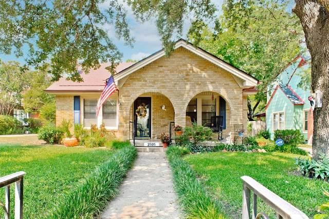 2505 Primrose Avenue, Fort Worth, TX 76111 (MLS #14671178) :: Craig Properties Group