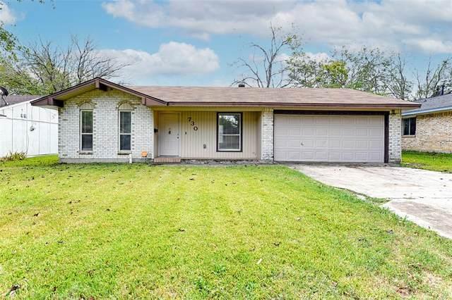 730 Hall Road, Seagoville, TX 75159 (MLS #14671180) :: United Real Estate