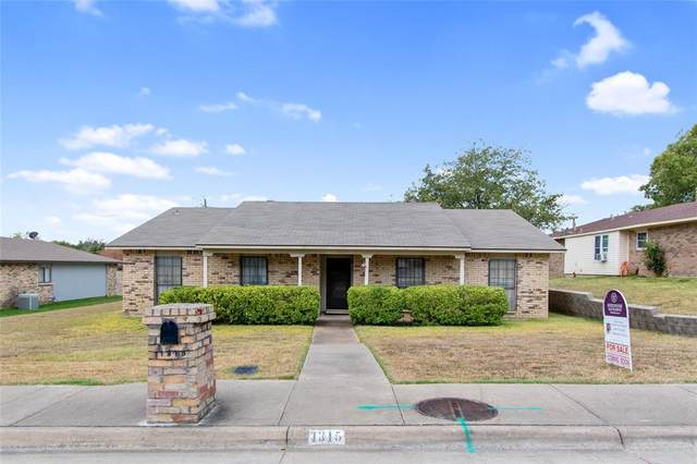 1315 Sequoia Drive, Desoto, TX 75115 (MLS #14671187) :: Real Estate By Design