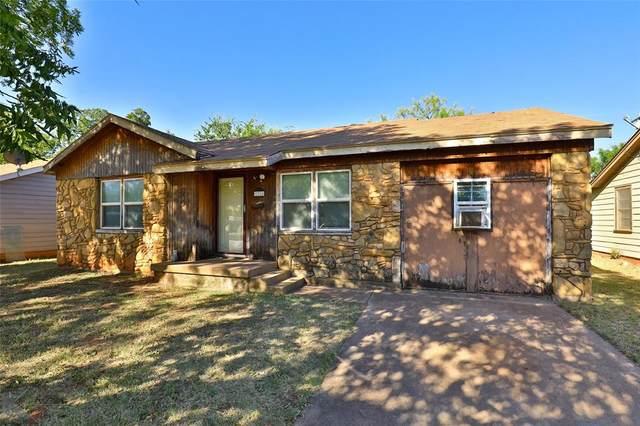 1310 Fannin Street, Abilene, TX 79603 (MLS #14671202) :: Frankie Arthur Real Estate