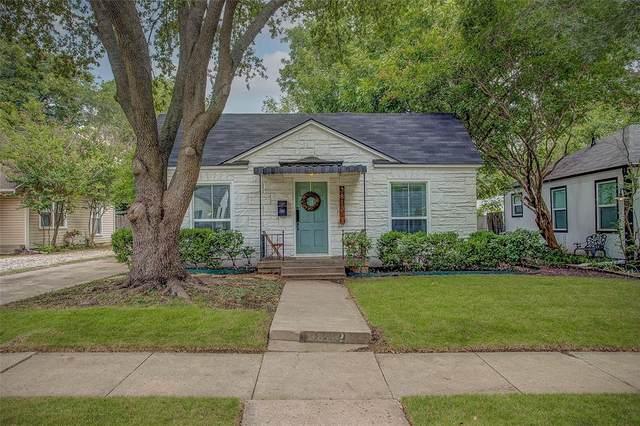 3812 Birchman Avenue, Fort Worth, TX 76107 (MLS #14671274) :: Real Estate By Design